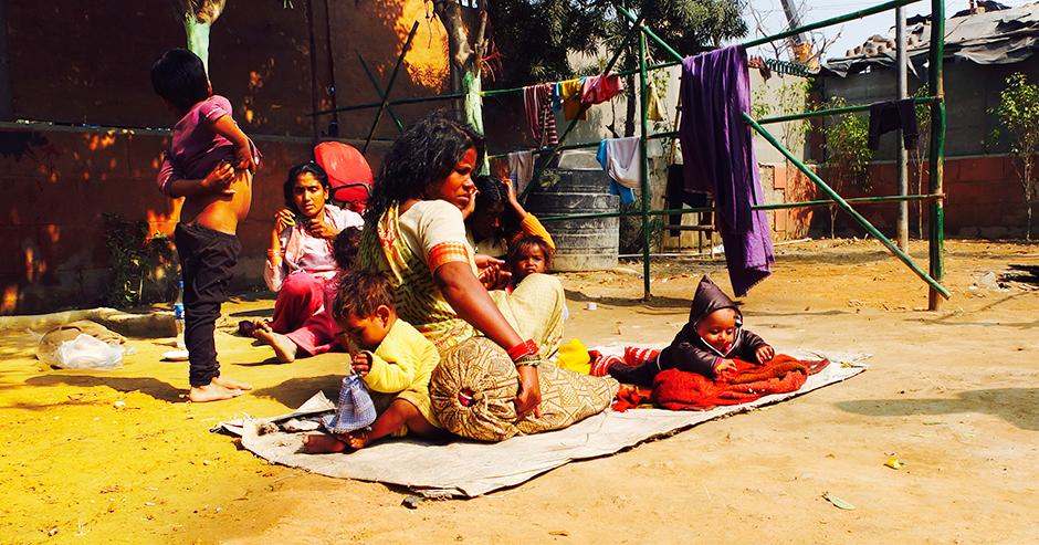 New Delhi's street kids