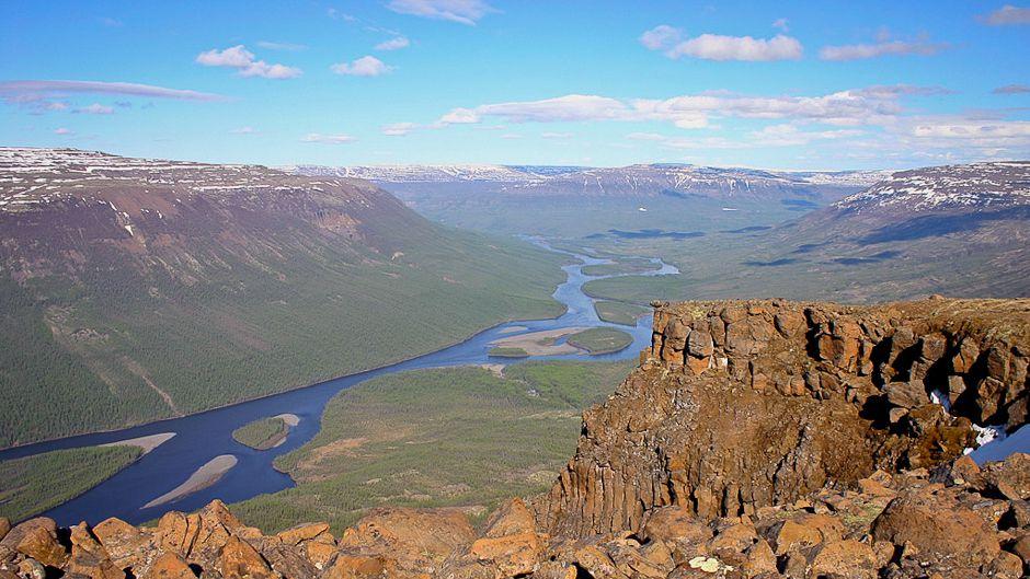 The Putorana plateau. Kureika valley. © UNESCO/Romanov A.