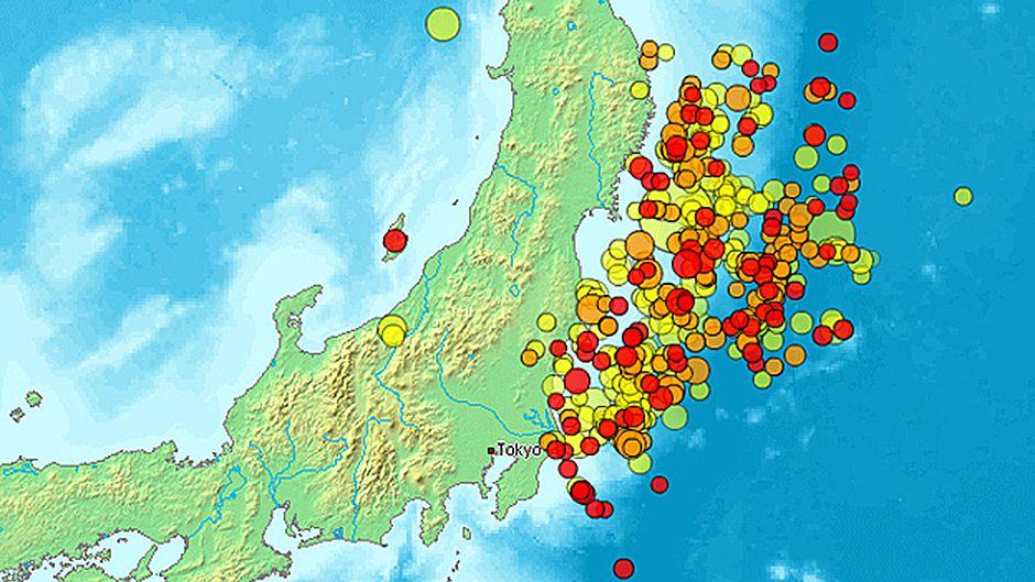 関東東北大地震、津波、そして原発事故