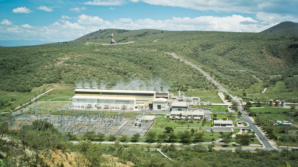 ケニアにある105MWのオルカリアⅡ地熱発電所はアフリカで最大だ。写真:村上涼