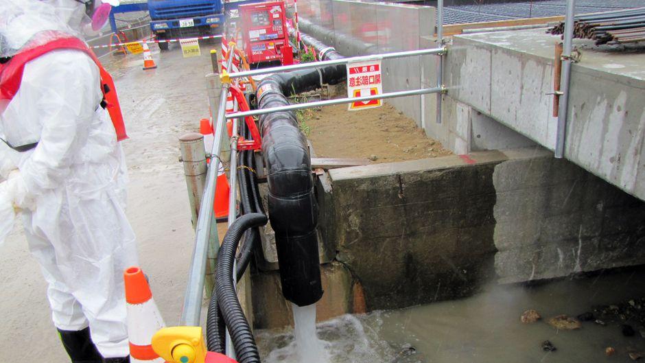 Fukushima Daiichi Begins Pumping Groundwater into Pacific