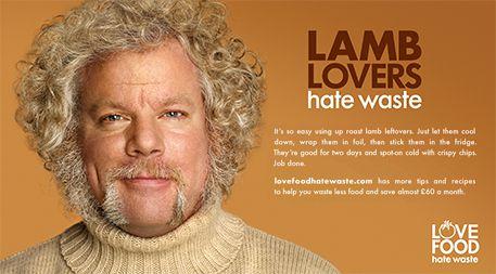 イギリスの「廃棄物・資源アクションプログラム(WRAP)」は、残り物の活用を奨励するクリエイティブなキャンペーン「Love Food Hate Waste」を立ち上げた。Photo: WRAP(Ensiaより)