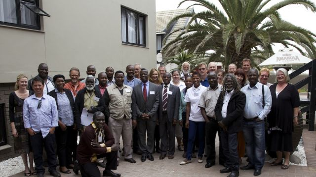 Southern African Regional Fire Workshop participants. Photo: UNU