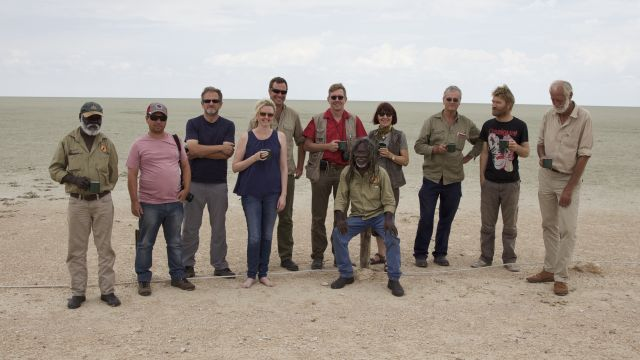 Participants in African Fire Learning Exchange, Namibia. Photo: UNU