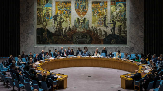 Security Council meeting on Threats to international peace and security