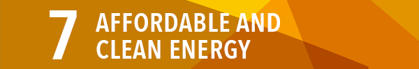 Sustainable development goal 7:affordable and clean energy