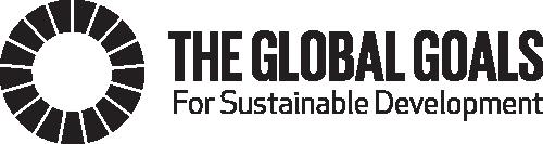 The Global Goals Logo - Main Horizontal Black