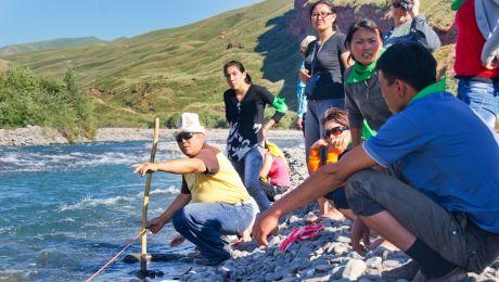 Practical fieldwork on water assessment