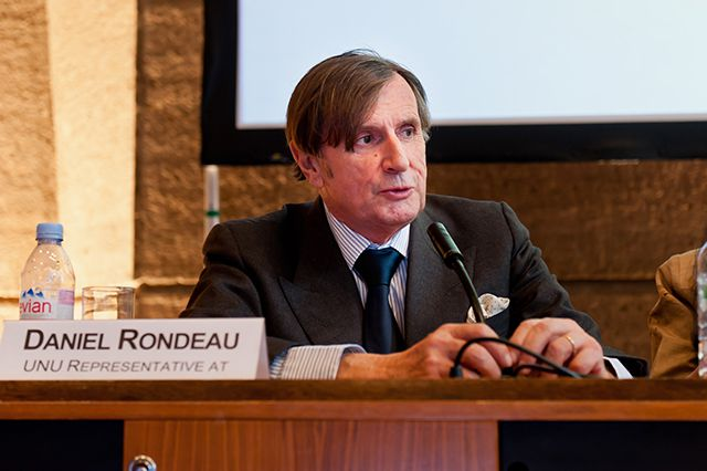 Daniel Rondeau, UNU Representative at UNESCO. Photo: Fabrice Gentile