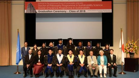 2018 UNU-IAS graduation ceremony