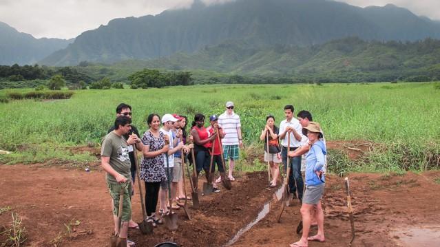 He'eia Wetlands 2013 ProSPER.Net Leadership Programme in Hawaii