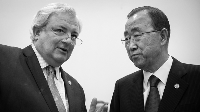 Stephen O'Brien and Ban Ki-moon