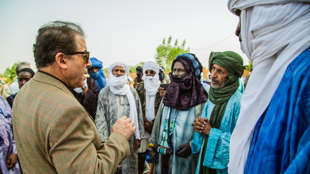 MINUSMA SRSG Visits Menaka in Northern Mali