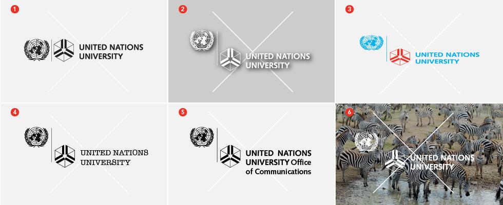 UNU incorrect logo use