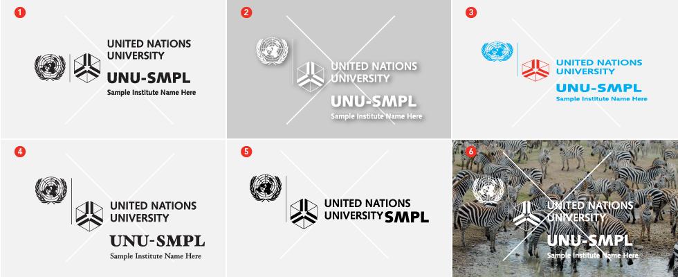 UNU institute logo incorrect use