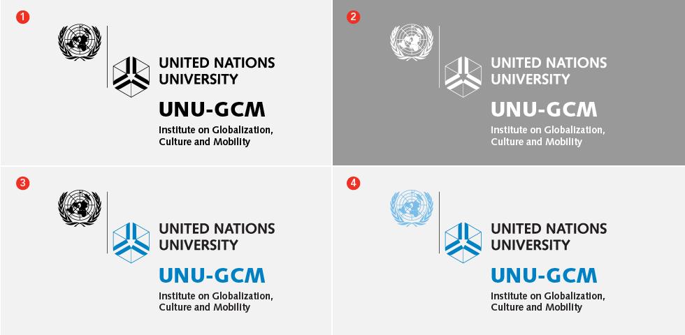 UNU institute logo suite