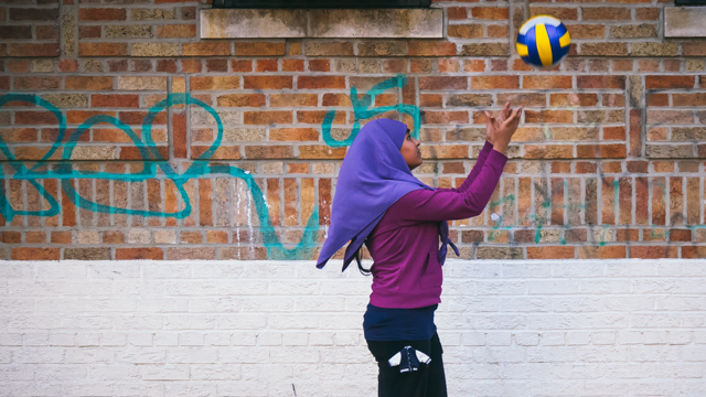 Young Muslim Woman, Sunnyside, Queens, New York