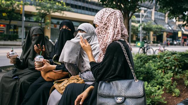 Muslim women in Toronto, Canada