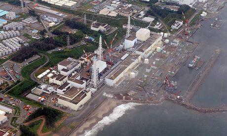 Fukushima Daiichi nuclear plant in Japan