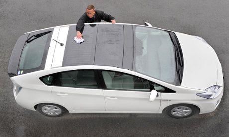 panels on car