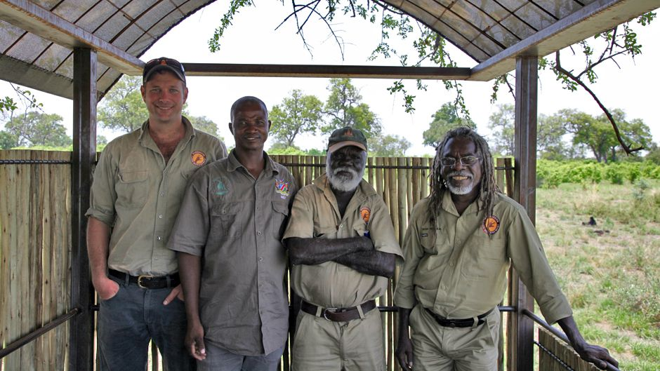Namibian Rangers & Indigenous Australian Fire Ecologists