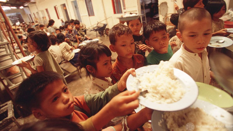 Hunger and poverty overshadowed