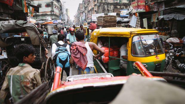 Kolkata busy street