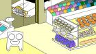 Harnessing cuteness to cut plastic bag use