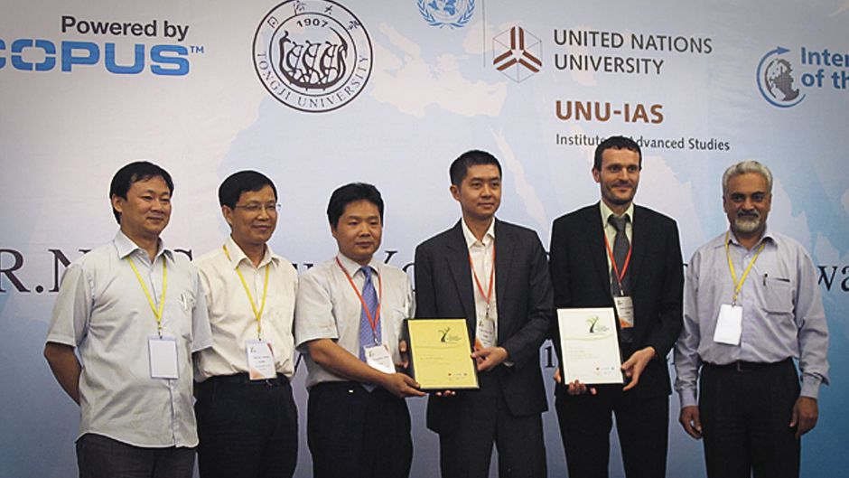 Awarding young scientists' work in sustainable development