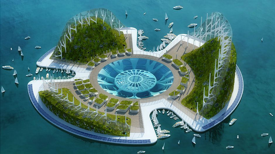 Artificial island could be solution for rising Pacific sea levels
