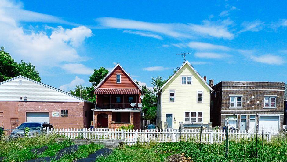 Green housing In Buffalo