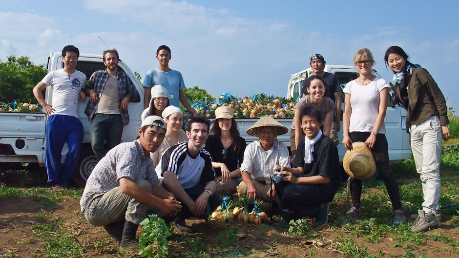 "Field trip to an agroecological ""teikei"" family farm"