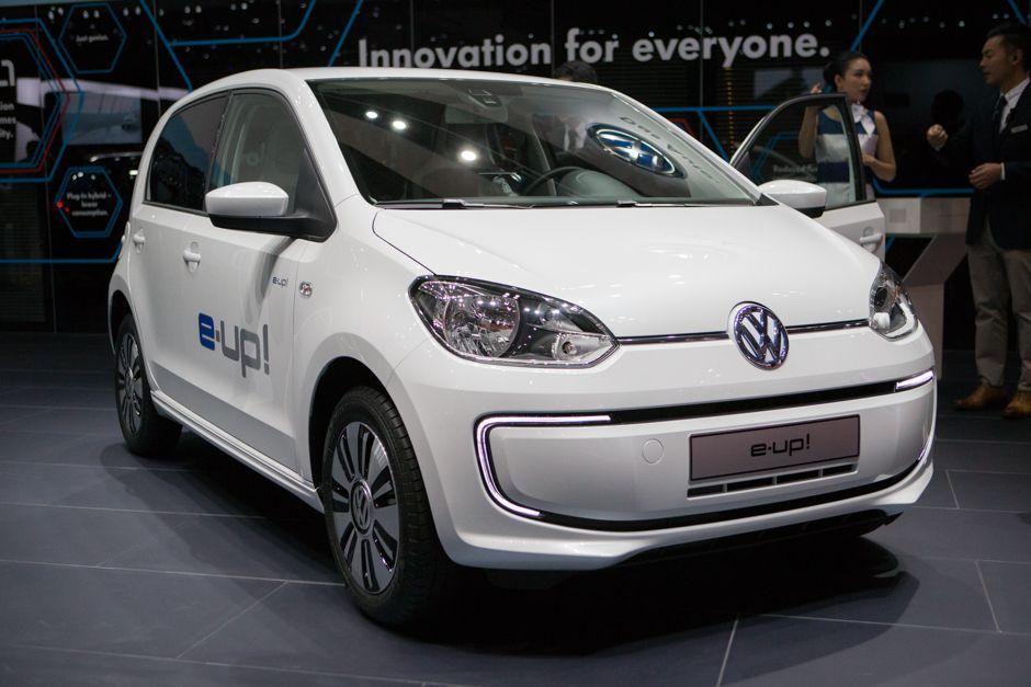 Volkswagen e-up diesel-electric hybrid