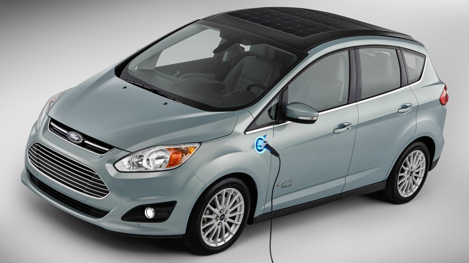 C Max Energi >> Ford Debuts Solar Car - Our World