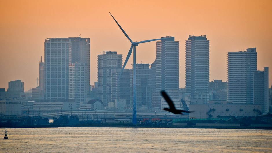 Yokohama, an environmentally friendly city
