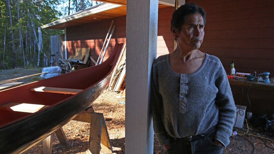Tla-o-qui-aht Master Canoe Carver Joe Martin