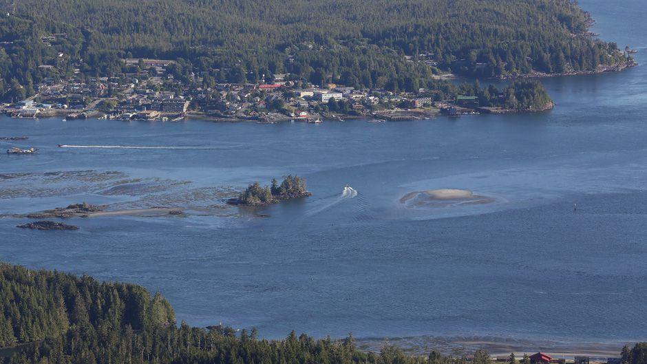 Tofino, Clayoquot Sound, Vancouver Island, British Columbia.