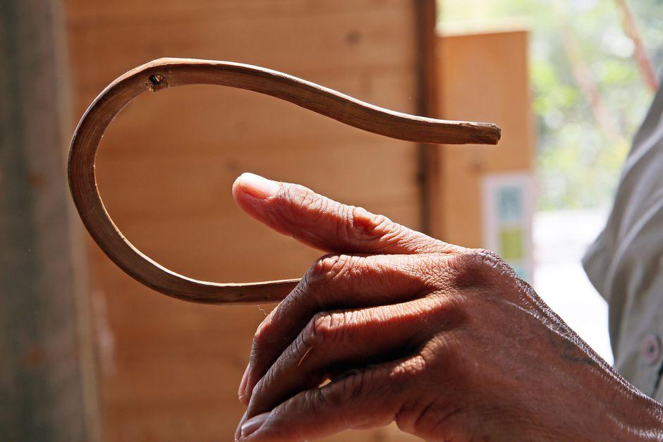 Traditional halibut hook