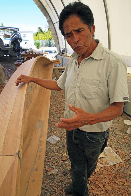 Joe Martin and canoe