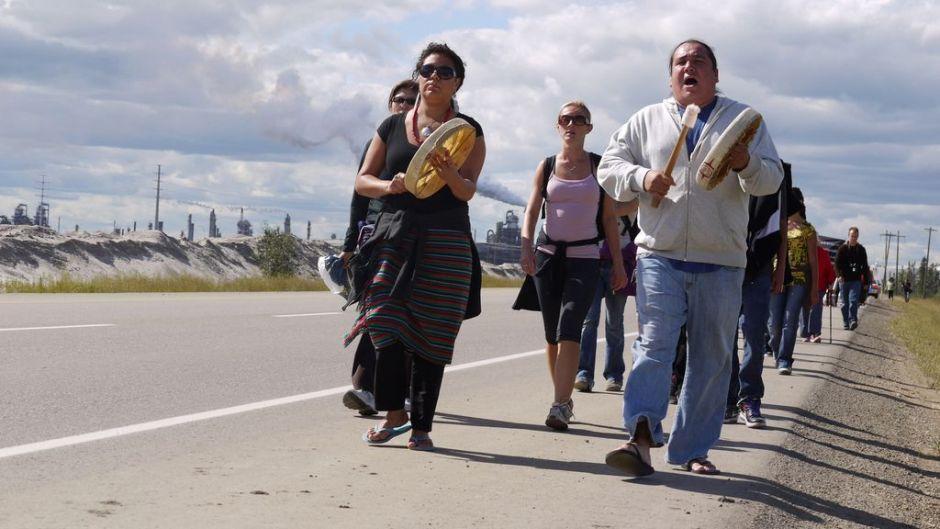 タールサンドに関する先住民族の権利