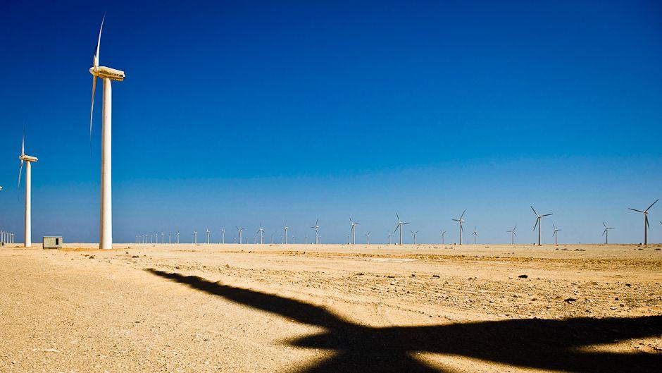 砂漠は再生可能エネルギーの宝庫