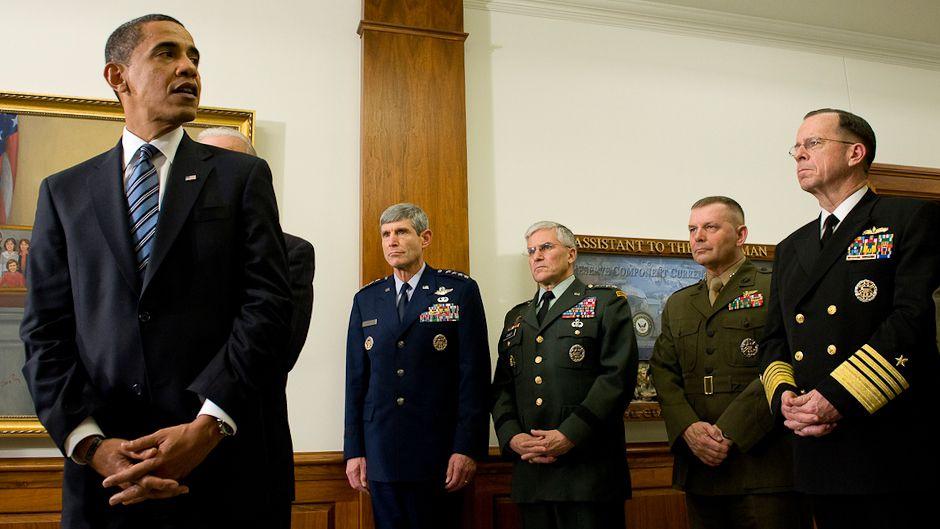 気候変動懐疑派に米軍が宣戦布告