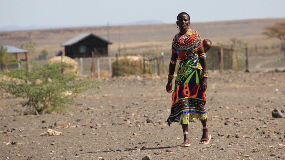 ケニアの成長を約束する風