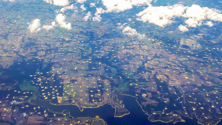 破壊されるアメリカの田園地帯