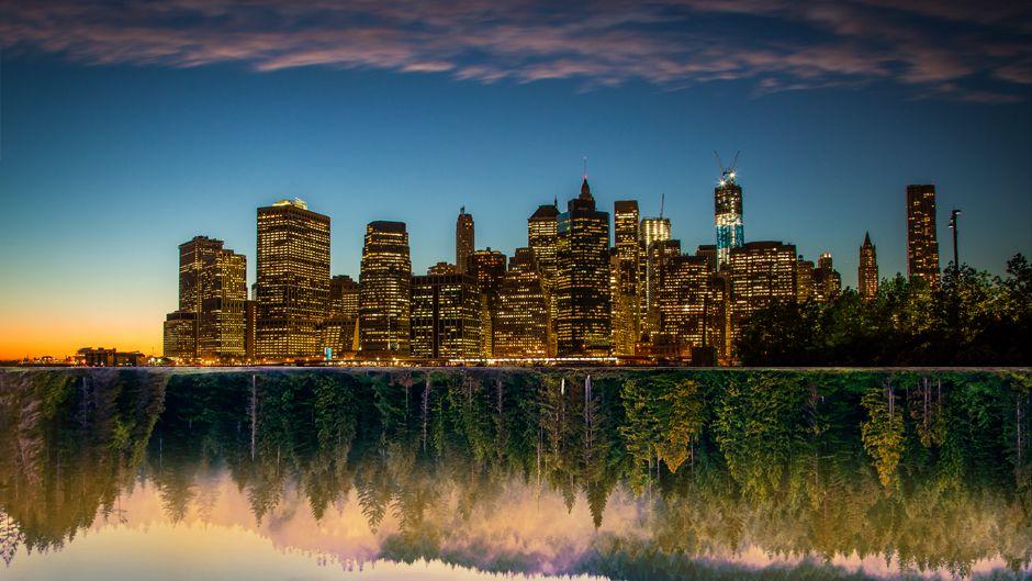 エコ生代の都市