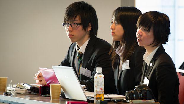 Model UN Presenter at UNU