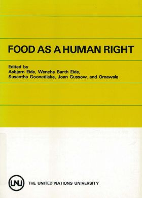 food as human right
